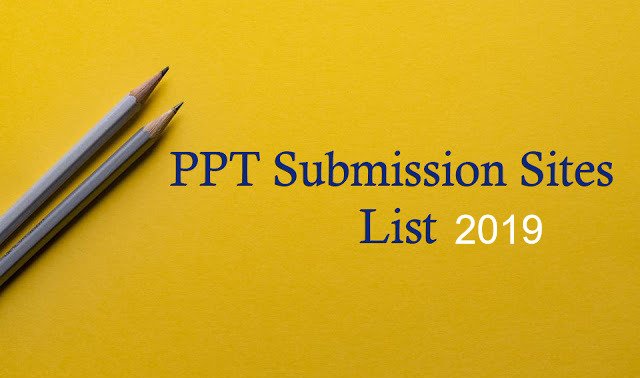 25+ Instant Approval HA & DA PPT Sites List April 2019